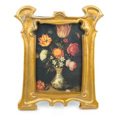 Photo frame Marble Gold