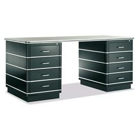 Fifties Desk with Decorative Details
