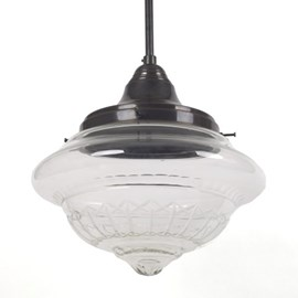 Hanging Lamp Crystal Clear Coupe