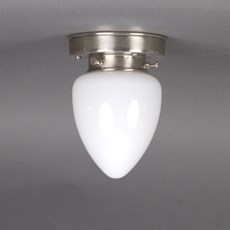 Ceiling Lamp Ellipse in Opal White