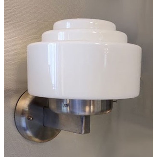 Outdoor Wall Lamp Stepped hood