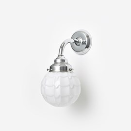 Wall lamp Artichoke Curve Chrome