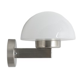 Outdoor Wall Lamp Stainless Steel with Hemisphere