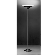 Floor Lamp with Metal Lampshade Holder