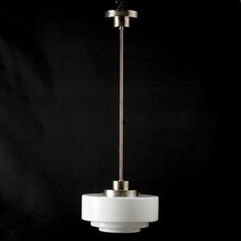 Hanging Lamp Stepped Lampshades