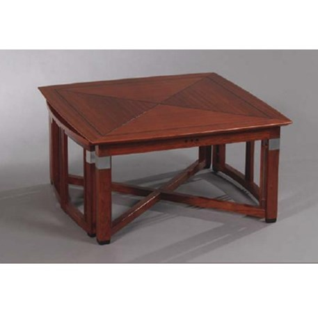 Schuitema Decoforma Salontafel.Art Deco Extendable Coffee Table Henry