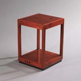 Art Deco Sidetable / Nightstand Ascot Left