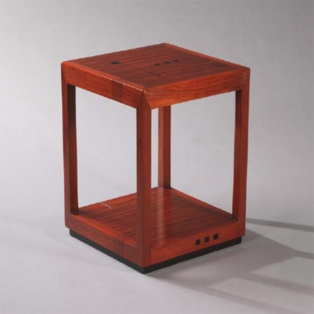 Art Deco Sidetabel / Night-table Ascot Right
