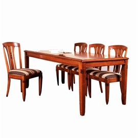 Dining-table in Cherry with Ebony Details