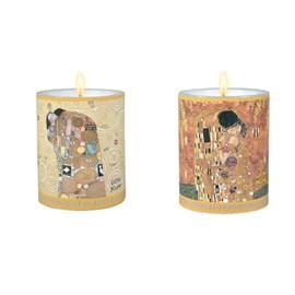 Set of 2 Candles Klimt