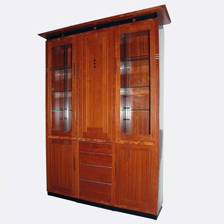 Art Deco Meubels.Art Deco Display Cabinet