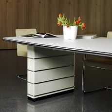 Conference Table Fifties Luxurious Details