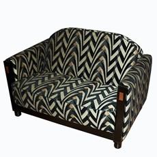 Art Deco sofa / 2 or 3 seater sofa - Rooker III