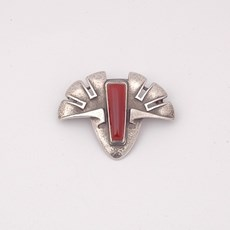 Art Deco Brooch Expressio