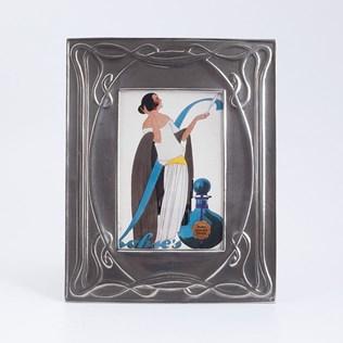 voorbeeld van een van onze Picture Frames Silver-Tin