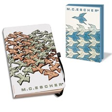 Notebook & Card Wallet Escher | Animals
