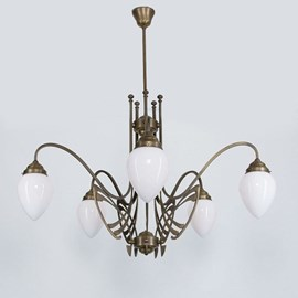 Victor Horta Chandelier Elegance