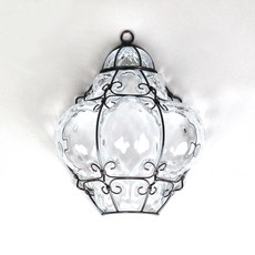 Venetian Wall Lamp Bellezza Clear