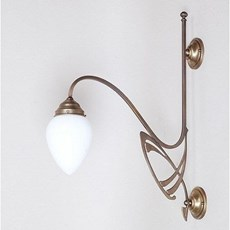 Victor Horta 1-light Wall Lamp Elegance
