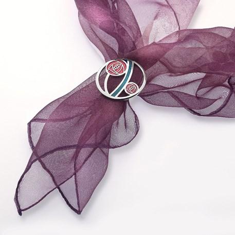 Scarf Ring Mackintosh Roses