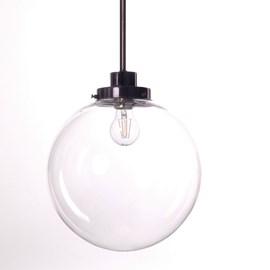 Hanging Lamp Clear Spheres