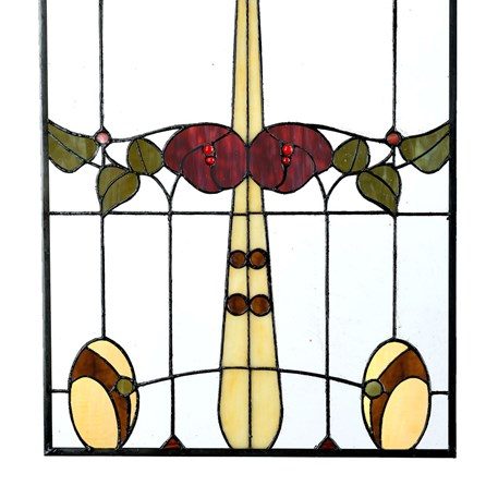 Mackintosh Tiffany Panel Detail