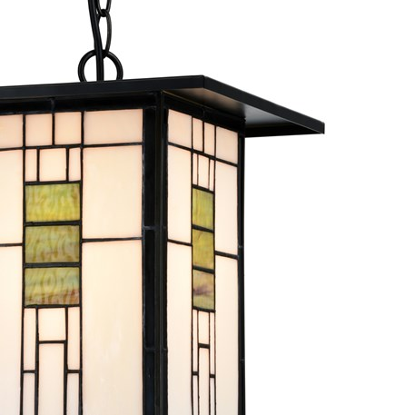 Tiffany Pendant Light Frank Lloyd Wright Detail