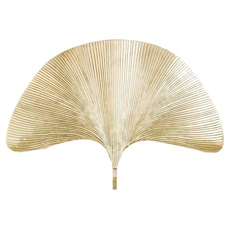 arteriors at eden home polished products screen shot lamp ginko scenario brass grande leaf pm