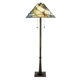 Tiffany Floor Lamp Sky Blue