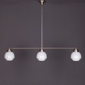 Hanging Lamp 3-Light with Deco Plain