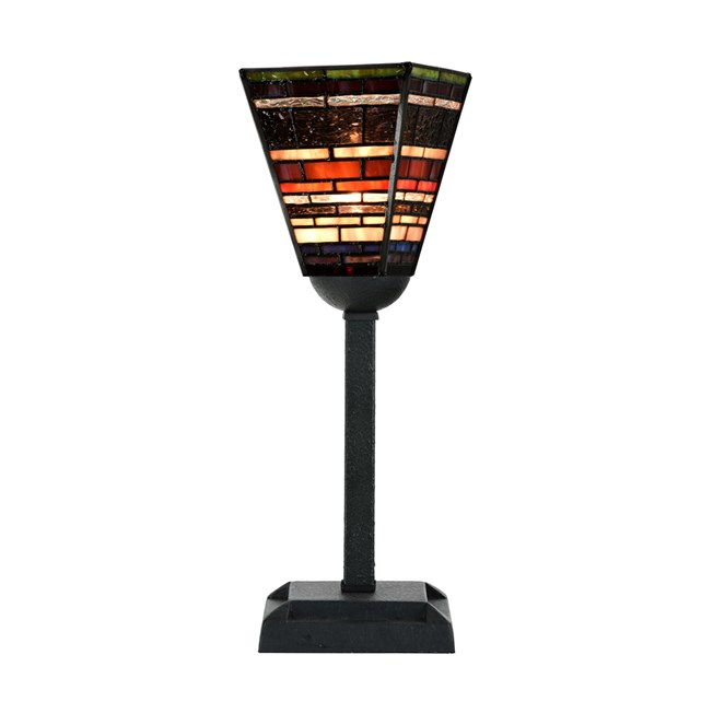 Tiffany Table Lamp Industrial Small