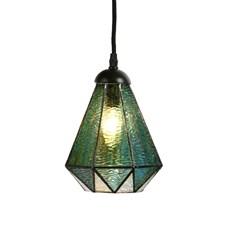 Tiffany Pedant Lamp Arata Green