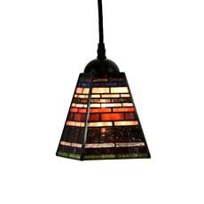 Tiffany Pendant Lamp Industrial Small