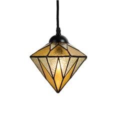Tiffany Pedant Lamp Aiko Yellow