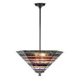 Tiffany Angular Pendant Lamp Industrial