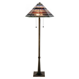 Tiffany Floor Lamp Industrial