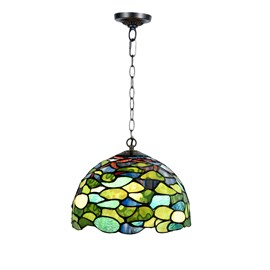 Tiffany Pendant Lamp Hydrangea