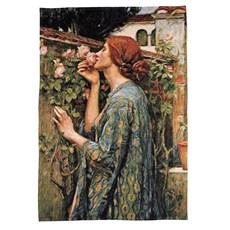 Wall Tapestry The Soul of the Rose | John William Waterhouse