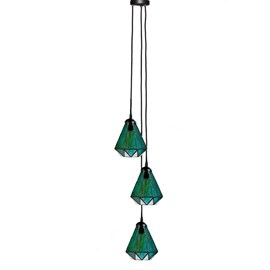 Tiffany Chandelier Arata Green 3