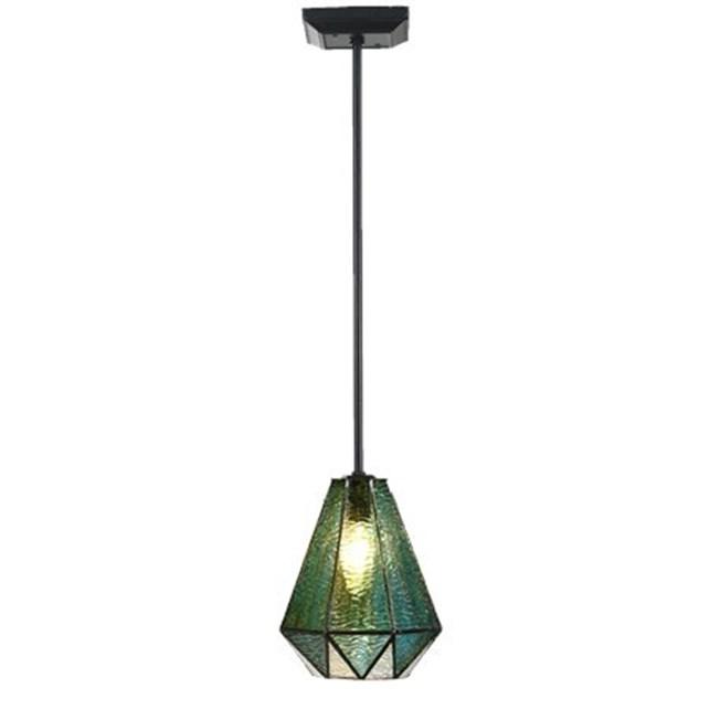 Tiffany Pendant Lamp Arata Green Pendel