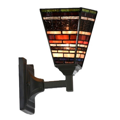 Tiffany Wall Lamp Industrial Quadrat