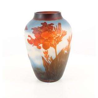 voorbeeld van een van onze Vases/  Dishes Glass-Tin-Ceramic