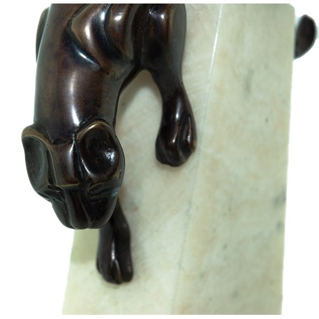 Sculpture Art Deco Panther