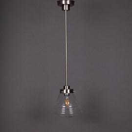 Pendant Lamp School de Luxe small Transparent