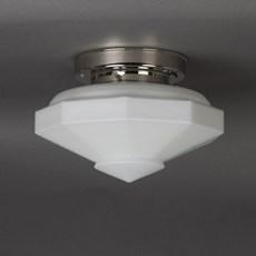 Ceiling Lamp Nonagon Matte Opal