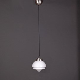 Pendant Lamp Linen Vintage Cord Small Pointy