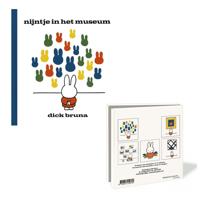 Gift Set Miffy in the Museum