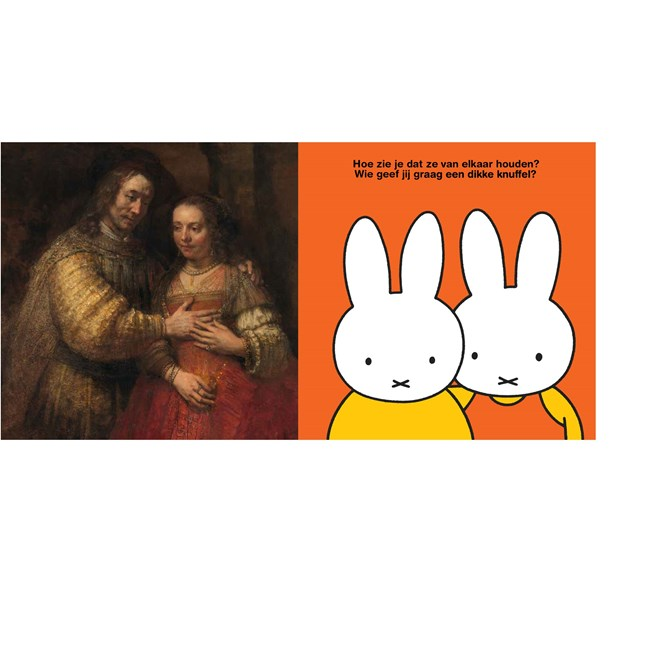 Different at first glance, but there are similarities! Photo: Miffy newsroom.
