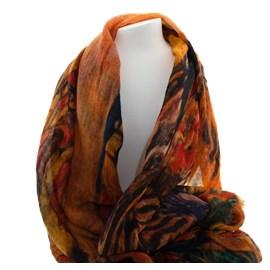 Scarf Klimt Colorful