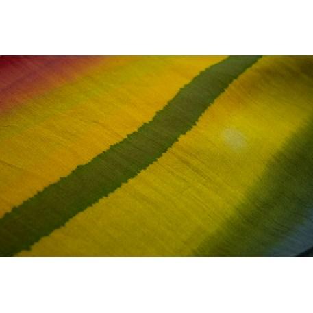 Silk Scarf Batik Yellow
